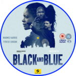 Black and Blue (2019) R2 Custom DVD Label