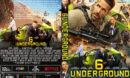 6 Underground (2019) R1 Custom DVD Cover & Label