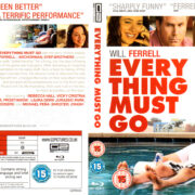 EVERYTHING MUST GO (2010) R2 BLU-RAY COVER & LABEL