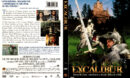 EXCALIBUR (1981) R1 DVD COVER & LABEL