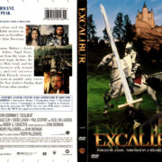EXCALIBUR (1981) R1 DVD COVER & LABEL