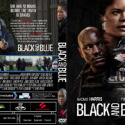 Black And Blue (2019) R1 Custom DVD Cover & Label