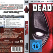 Deadpool (2016) R2 4K UHD German Covers & Label