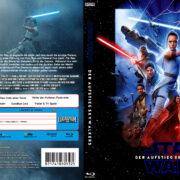 Star Wars: Episode IX - Der Aufstieg Skywalkers (2019) R2 German Blu-Ray Cover