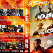 Bad Boys Triple Feature R1 Custom DVD Cover