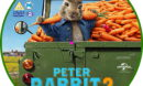 Peter Rabbit 2: The Runaway (2020) R2 Custom DVD Label