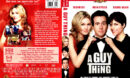 A GUY THING (2003) R1 DVD COVER & LABEL