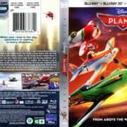 PLANES 3D (2013) R1 BLU-RAY COVER & LABEL