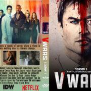 V-Wars: Season 1 (2019) R0 Custom DVD Cover