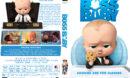 The Boss Baby (2017) R1 Custom DVD Cover & Label