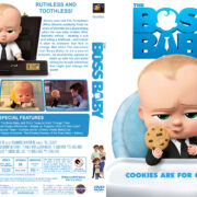 The Boss Baby (2017) R1 Custom DVD Cover & Label