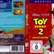 Toy Story 2 (1999) R2 German Blu-Ray Cover