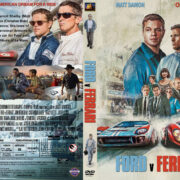 Ford v Ferrari (2019) R1 Custom DVD Cover & Label