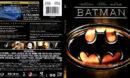 BATMAN (1989) R1 BLU-RAY COVER & LABEL