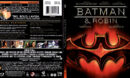 BATMAN & ROBIN (1997) SLIM BLU-RAY COVER & LABEL
