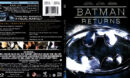 BATMAN RETURNS (1992) R1 SLIM BLU-RAY COVER & LABEL