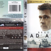 Ad Astra (2019) R1 4K UHD Cover & Labels