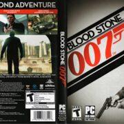 James Bond 007: Blood Stone (2010) US PC DVD Cover & label