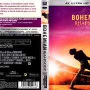 BOHEMIAN RHAPSODY (2018) (SPAIN) 4K UHD BLU-RAY COVER & LABELS