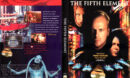 THE FIFTH ELEMENT SUPERBIT (1987) R1 DVD COVER & LABEL