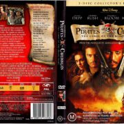 Pirates of the Caribbean The Curse of the Black Pearl (2003) R4 DVD Cover