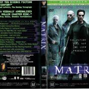 The Matrix (1999) R4 DVD Cover