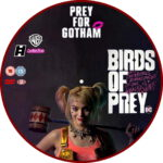 Birds Of Prey (2020) R2 Custom DVD Label