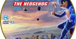 Sonic The Hedgehog 2020 R2 Custom Dvd Label Dvdcover Com