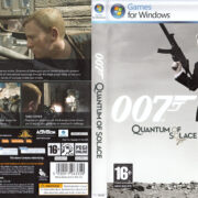 James Bond 007: Quantum of Solace (2008) EU PC DVD Cover & Label