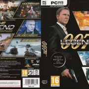 James Bond 007: Legends (2012) EU PC DVD Cover & Label