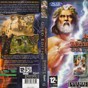 Age of Mythology - Gold Edition (2004) EU PC DVD Cover & Label