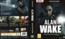 Alan Wake - Collector's Edition (2012) EU PC DVD Cover & Label