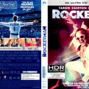 ROCKETMAN (2019) (SPAIN) 4K UHD BLU-RAY COVER & LABELS