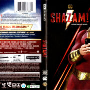 SHAZAM (2019) 4K UHD BLU-RAY COVER & LABELS
