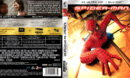 SPIDER-MAN (2002) (SPAIN) 4K UHD BLU-RAY COVER & LABELS