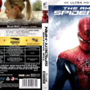 THE AMAZING SPIDER-MAN (2012) (SPAIN) 4K UHD BLU-RAY COVER & LABELS