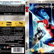 THE AMAZING SPIDER-MAN 2 (2014) (SPAIN) 4K UHD BLU-RAY COVER & LABELS