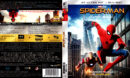SPIDER-MAN HOMECOMING (2017) (SPAIN) 4K UHD BLU-RAY COVER & LABELS