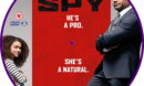 My Spy (2020) R2 Custom DVD Label