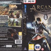 Arcania: Gothic 4 (2010) CZ PC DVD Cover & Label