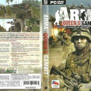 ArmA: Queens Gambit (2007) CZ PC DVD Cover & Label