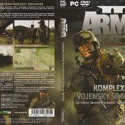 ArmA 2 (2009) CZ PC DVD Cover & Label