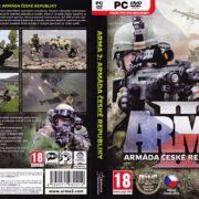 ArmA 2: Armáda České republiky (2012) CZ PC DVD Cover & Labels
