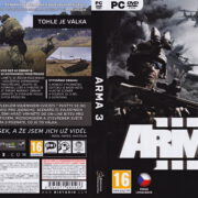ArmA 3 (2013) CZ PC DVD Cover & Label