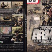 ArmA X: Anniversary Edition (2011) CZ PC DVD Cover & Labels