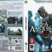 Assassin's Creed (2008) CZ/SK PC DVD Cover & Label