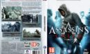 Assassin's Creed (2008) EU PC DVD Cover & Label