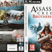 Assassins Creed: Brotherhood (2011) EU PC DVD Cover & Label