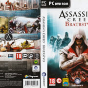 Assassins Creed: Bratrstvo (2011) CZ/SK PC DVD Cover & Label