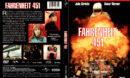 FAHRENHEIT 451 (1966) R1 DVD COVER & LABEL
